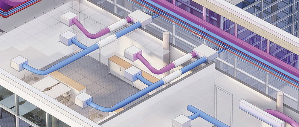 High efficiency hydronic solution with fan coil TCU terminal units
