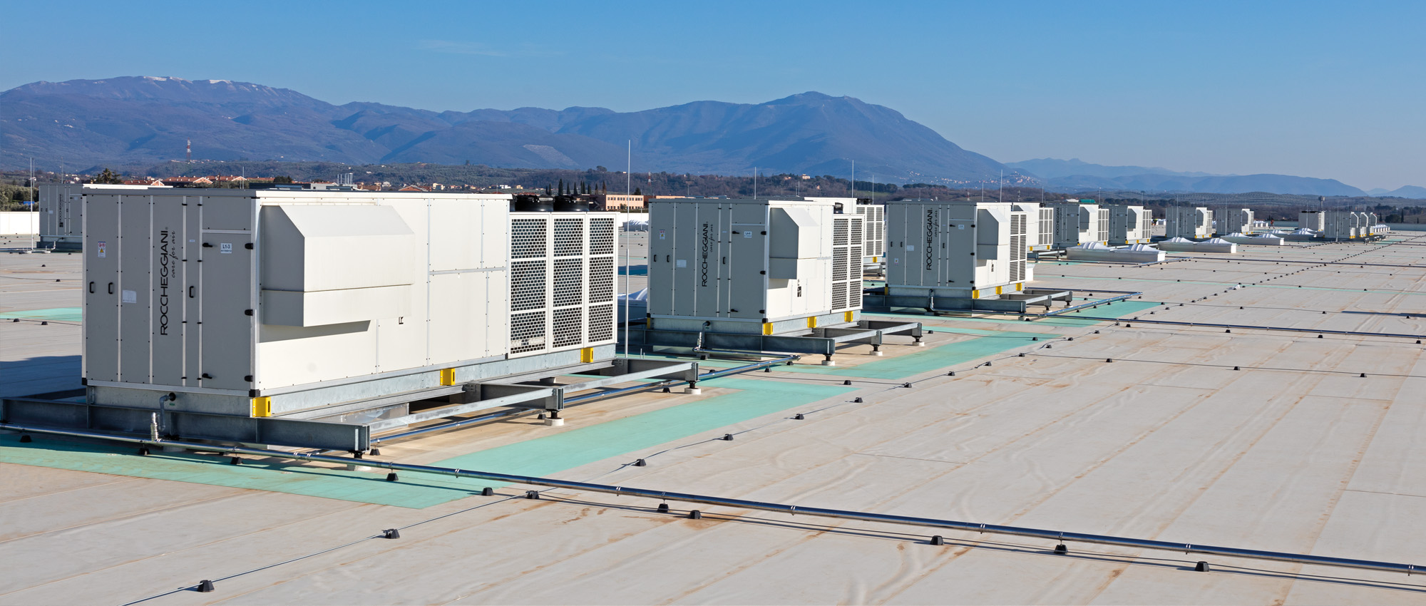 The High Efficiency Roof Top Units