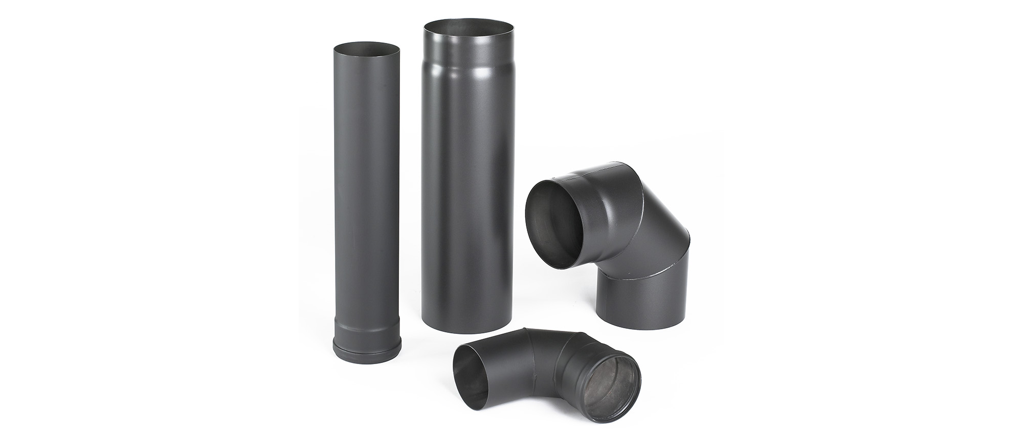 Flue pipe products for wood and pellet stoves
