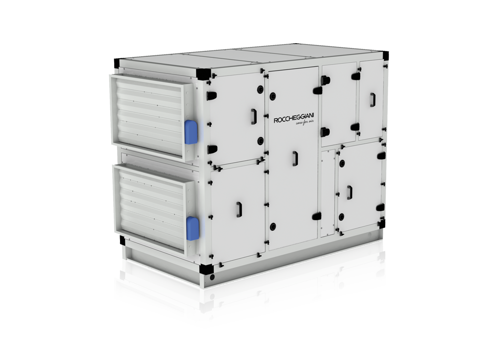 High efficiency heat recovery unit
